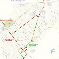 Схема проезда до СТП-ЗСУ
